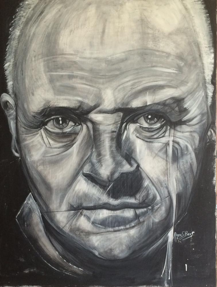 Anthony Hopkins by allllicia
